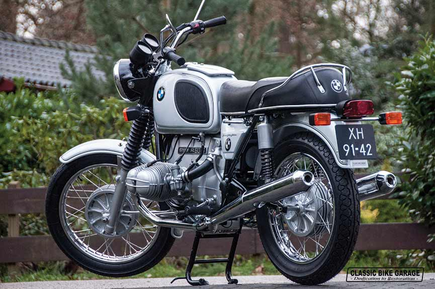 BMW R60/6 in zijn volle glorie