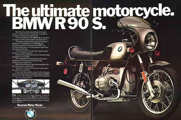 BMW R90s - Silver Smoke uitvoering