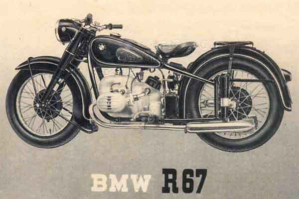 Restauratieproject BMW R67