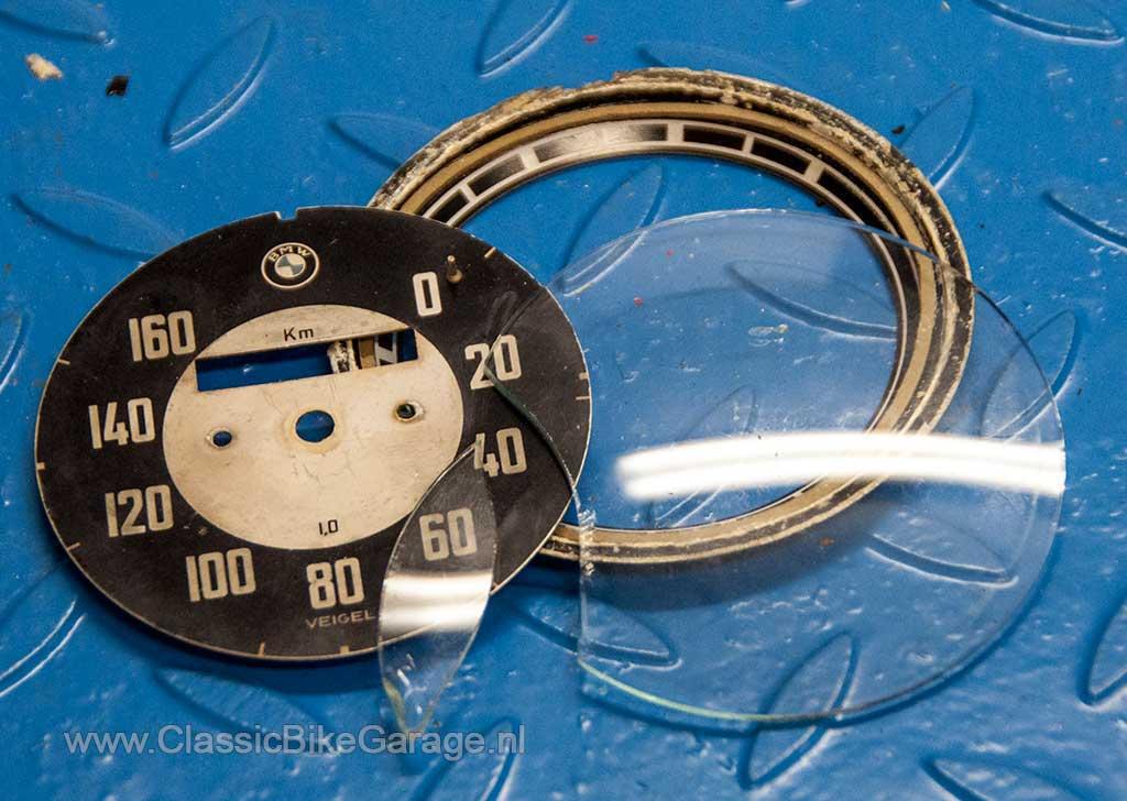 BMW-R51-3-Kilometerteller-gebroken-glas