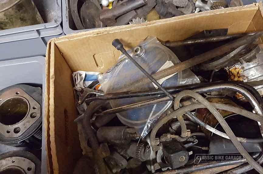 BMW R67 onderdelen