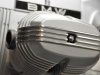 1 - De kleppendeksels van de BMW R80/7 hebben gepolijste koelribben