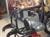 2 - Zo zag het motorblok en het frame van de BMW R80/7 er eerst uit