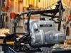 3 - Nu ziet het frame en het motorblok van de BMW R80/7 er zo uit!