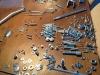 6 - Alle bouten en moeren van de BMW R80/7 opnieuw verzinkt