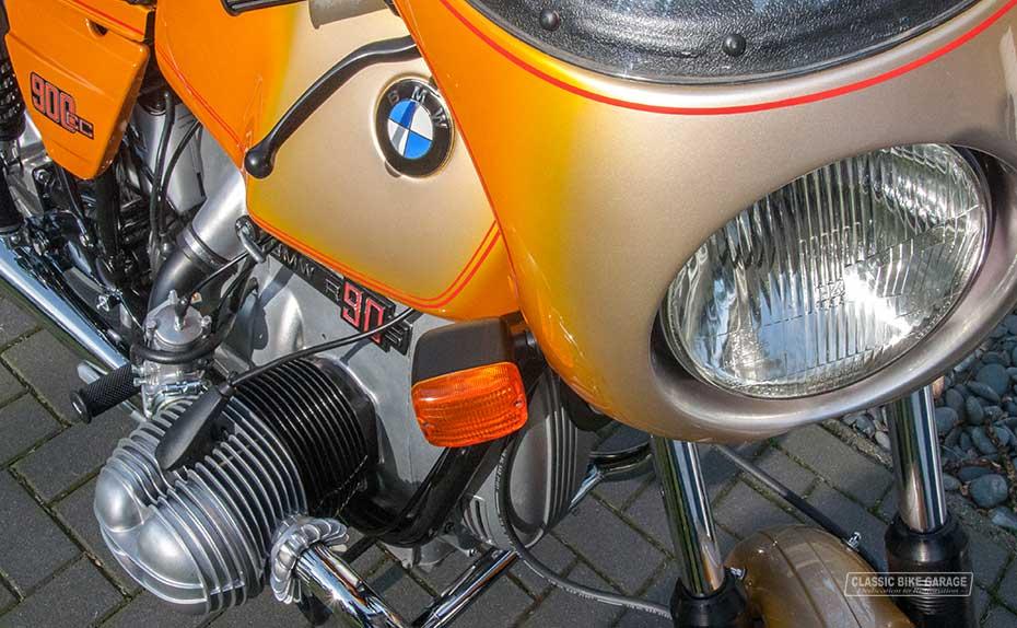 BMW R90s stuurkuip