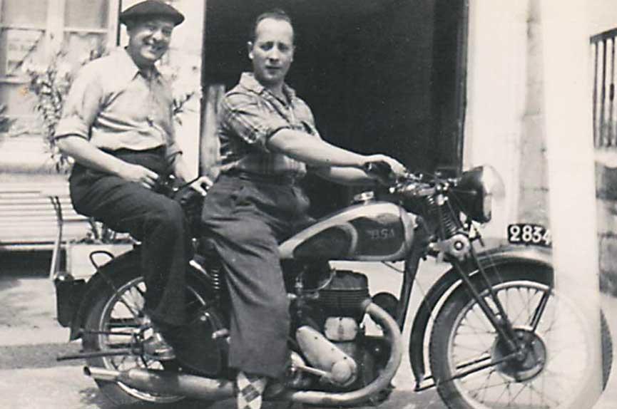 BSA-M20-in-burgeractie