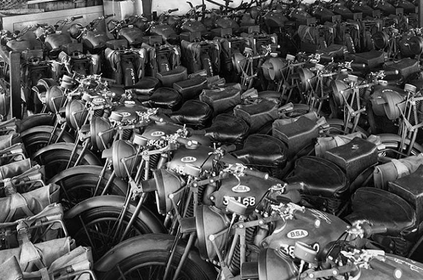 BSA-M20-in-de-fabriek