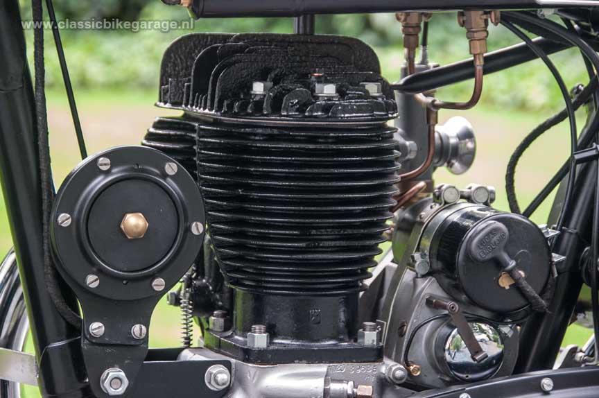 BSA-M20-motorblok-linkerzijde-dynamo