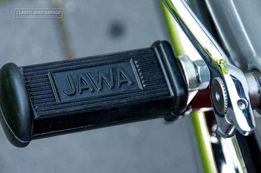 Jawa-350-voetsteun