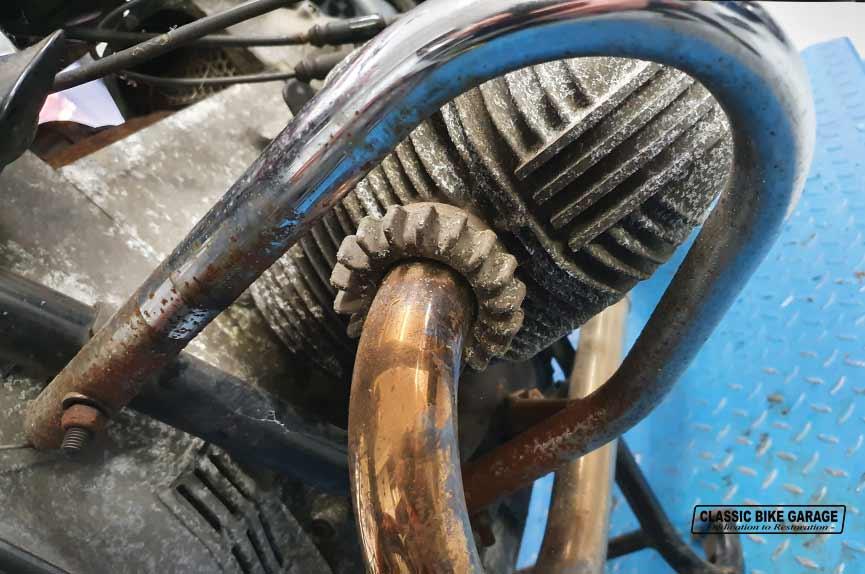 BMW-R60-7-motorblok-oud